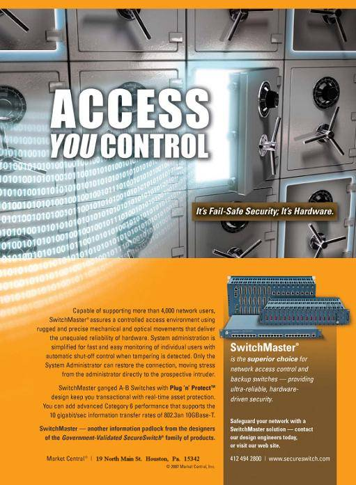 SwitchMaster Ad access you can control